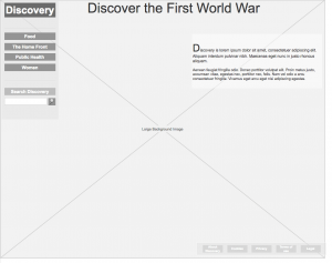 discover the first world war